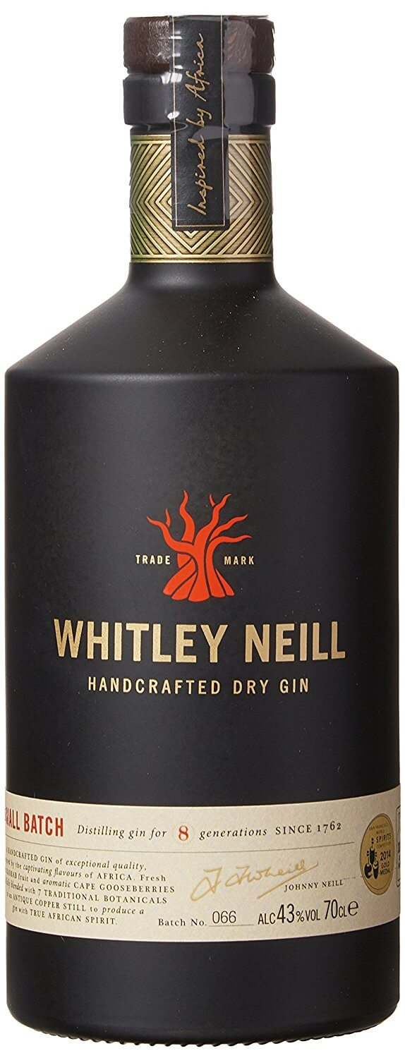 Whitley Neill Gin, 70 cl