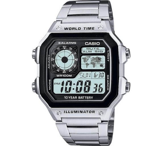 Casio Men's World Time Illuminator Watch