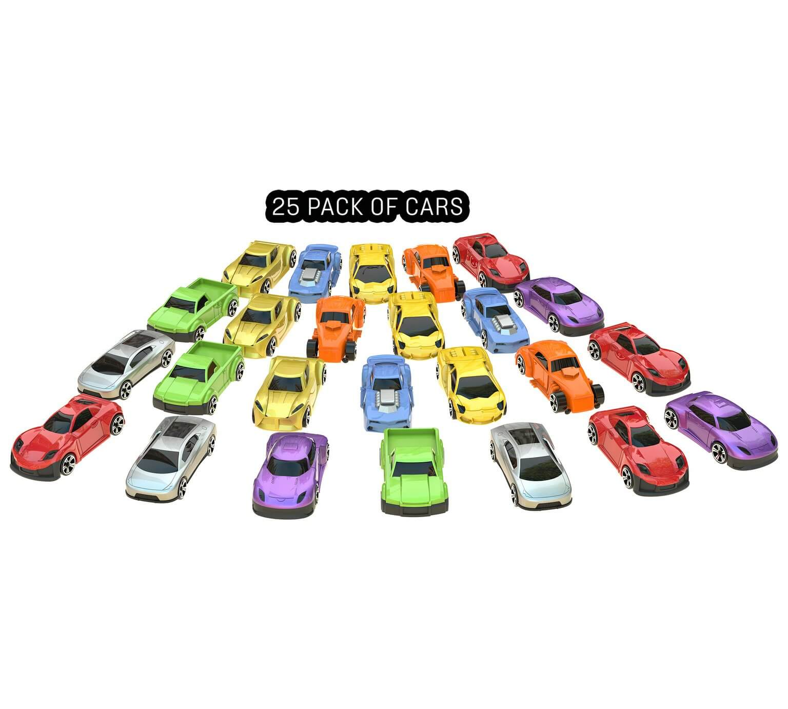 Chad Valley Die-Cast Cars – 25 Pack was ?9.99 now ?5.99