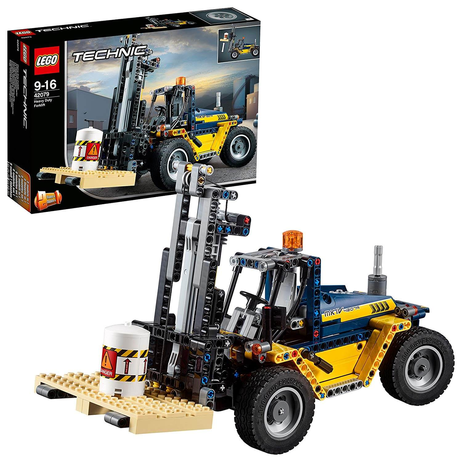 LEGO 42079 Heavy Duty Forklift Technic