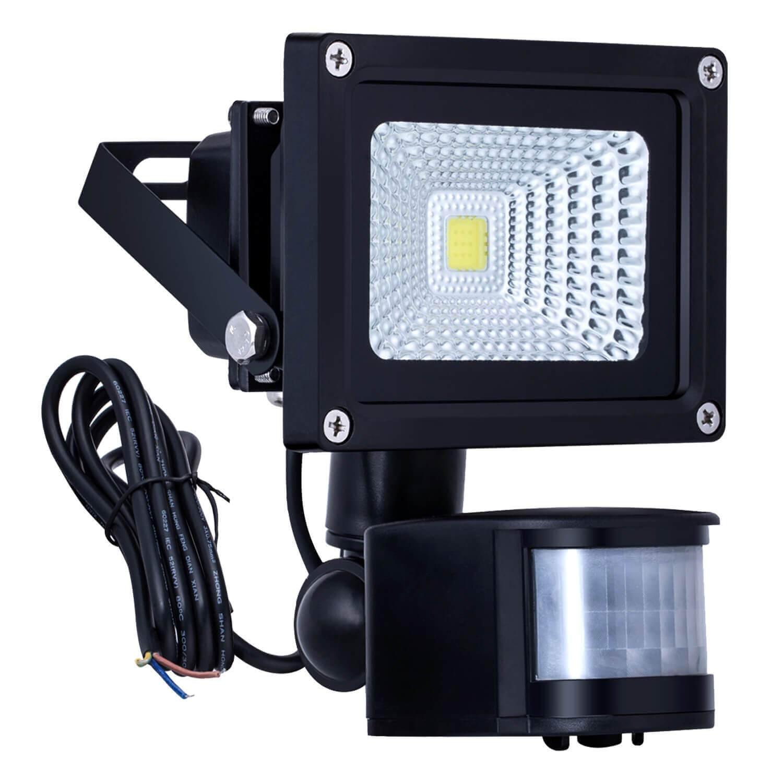 10W LED PIR Security Light