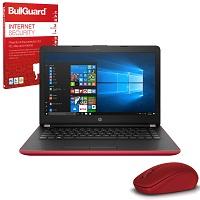 Manufacturer Refurbished HP 14-bs044na 14″ Red Student Laptop Intel Pentium Quad Core, 4GB RAM, 128GB SSD