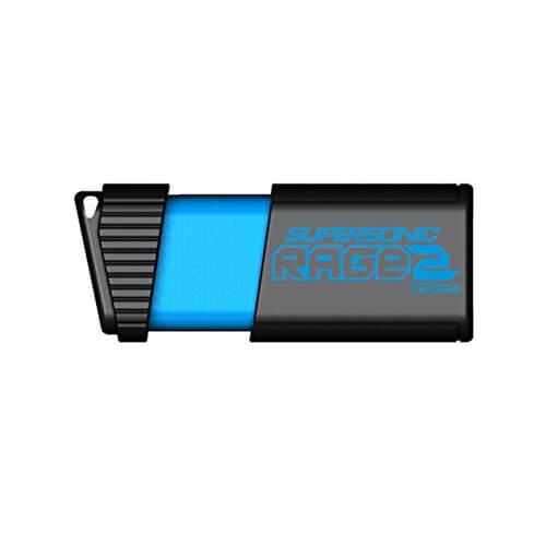 Patriot Supersonic Rage 2 128GB (400MB/s read) USB 3.0 Flash Drive