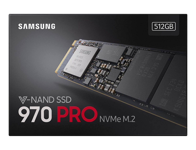 Samsung 970 PRO 512GB V-NAND M.2 NVME