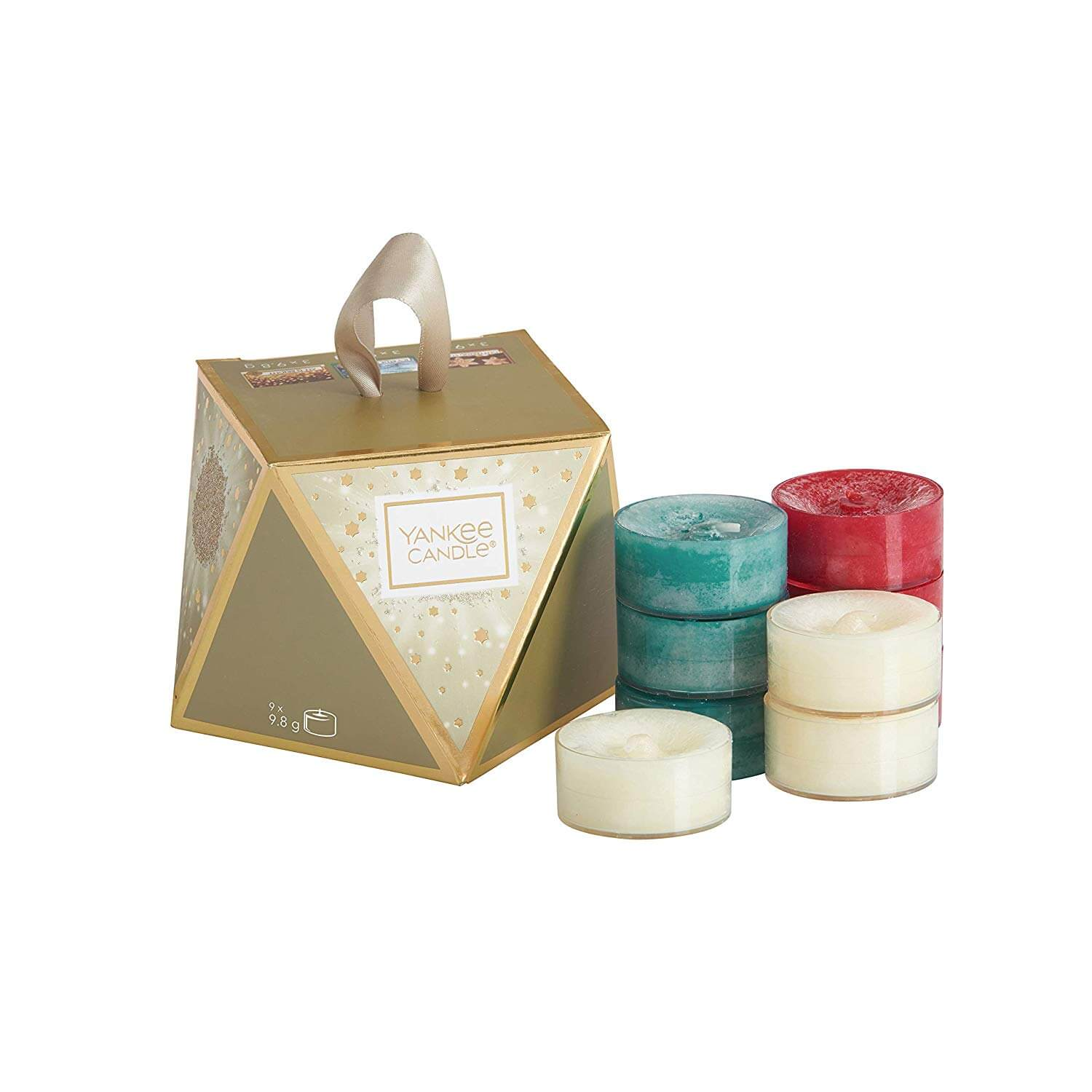 Yankee Candle Stocking Filler with 9 Scented Tea Lights