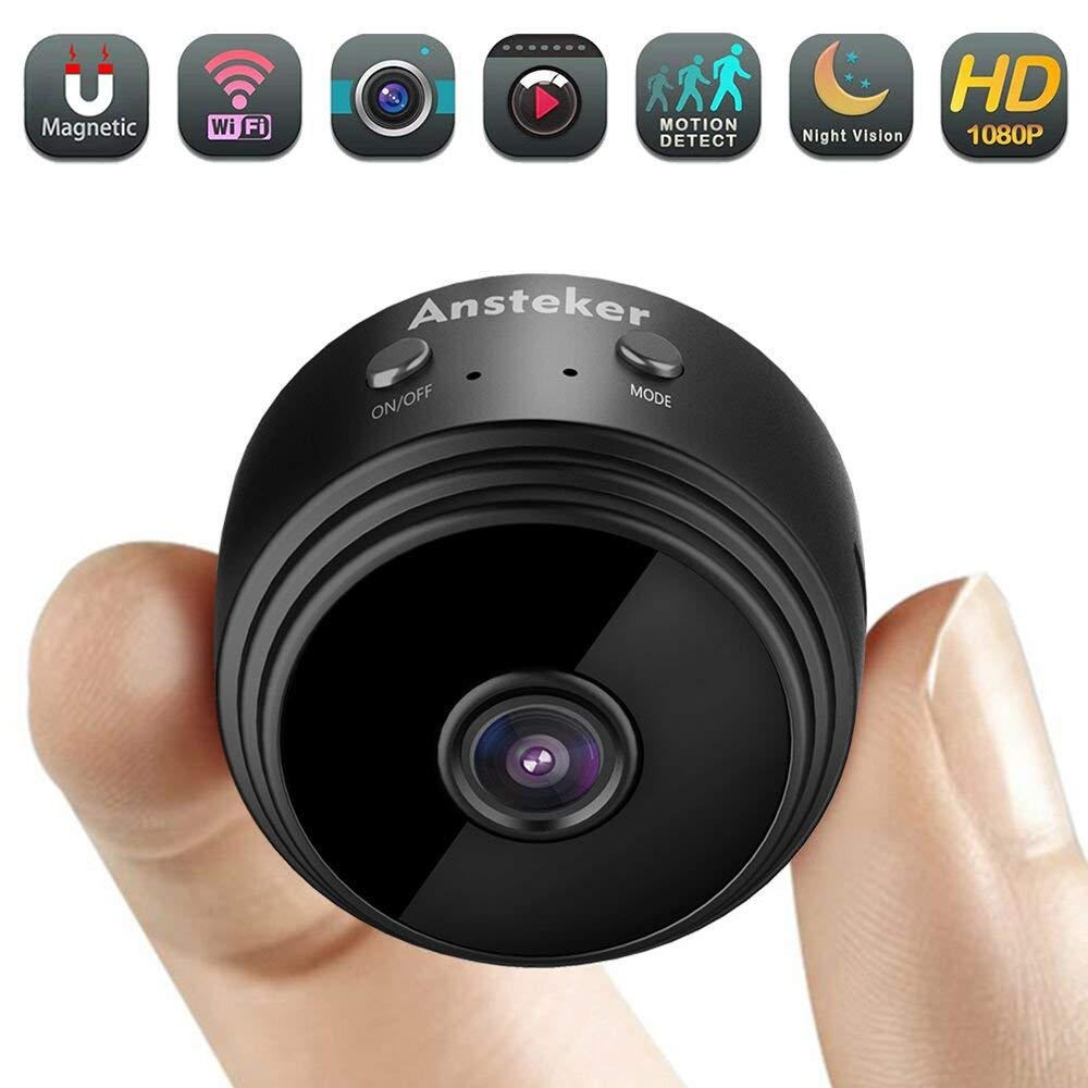 WiFi Hidden Camera with Motion Detection Night Vision