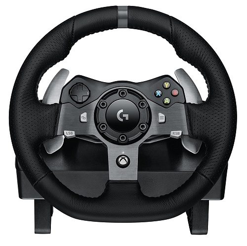 Logitech G920 UK Plug Driving Force Racing Wheel (Xbox One and PC) for £194.39