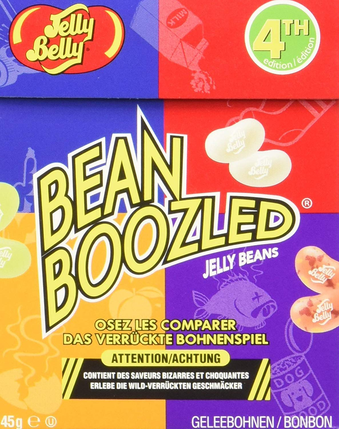 Jelly Belly Bean Boozled Flip Top Box (24 Pack)