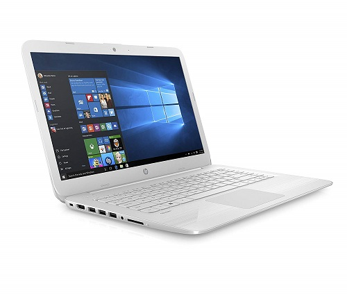 HP Stream 14-cb009na 14 Inch Laptop, (Snow White) for £199.99