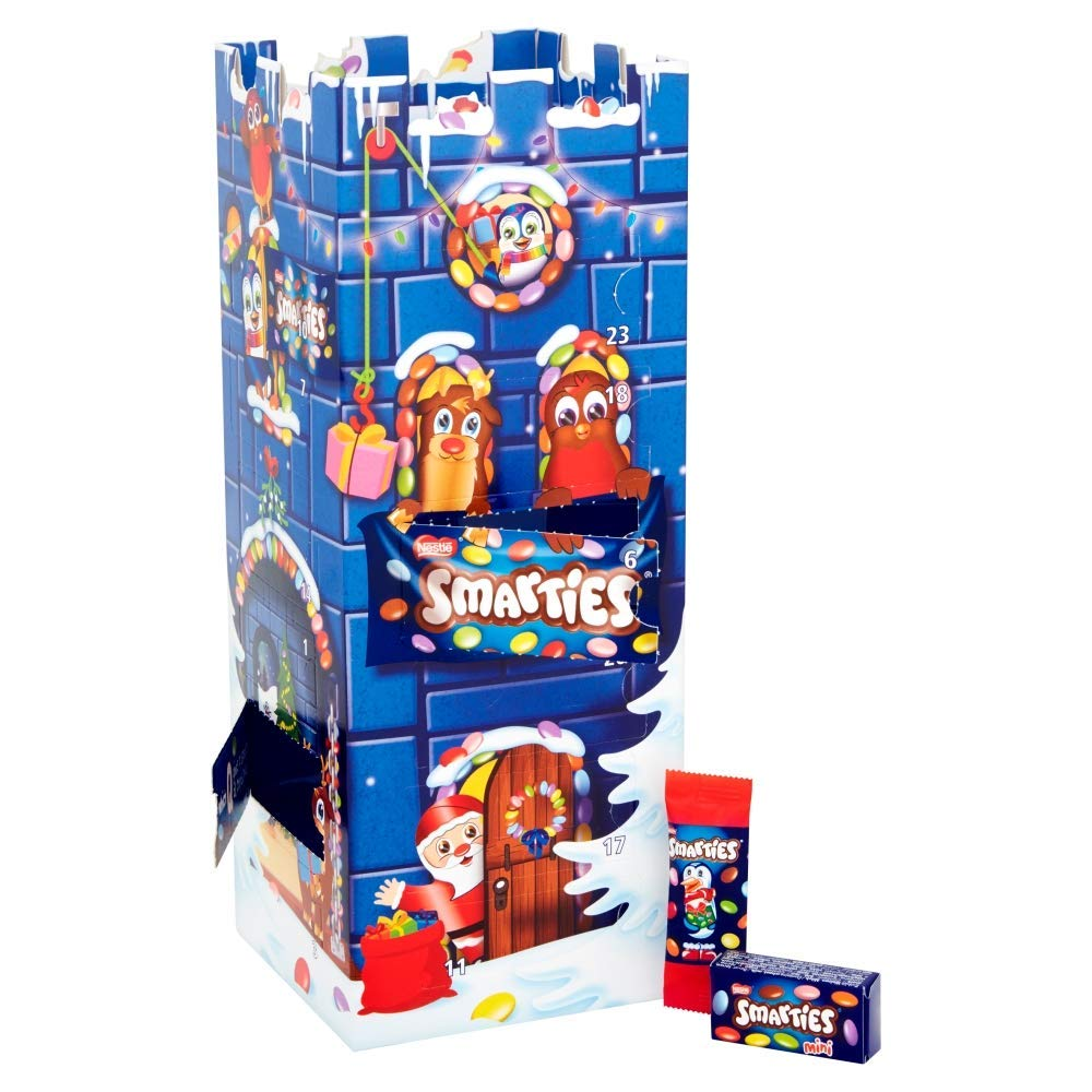Nestle Smarties Milk Chocolate Advent Calendar