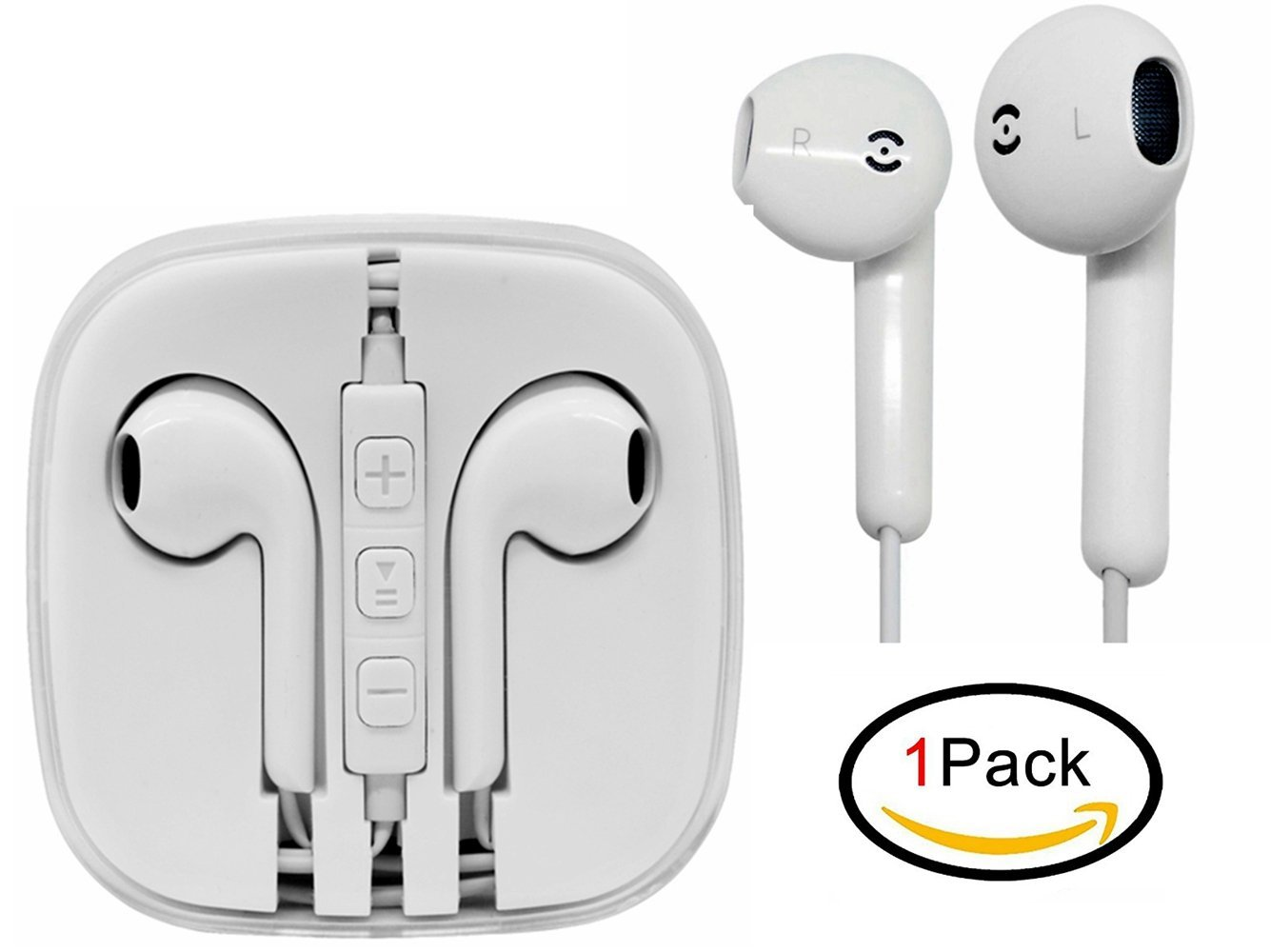 Jiayou Headsets Earbuds for iPhone iPad ipod Samsung for  £3.99