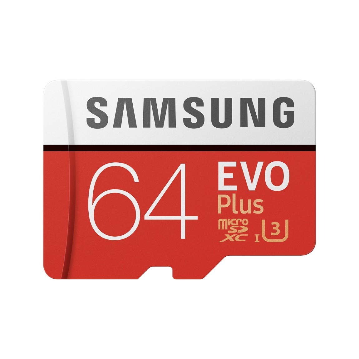 Samsung 64 GB Evo Plus MicroSD card with Adapter
