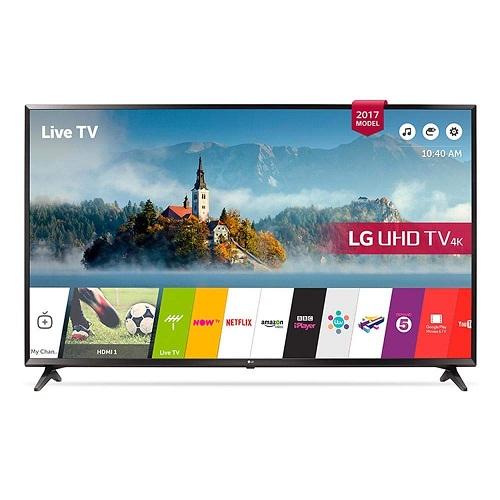 LG 55UJ630V 55 inch 4K Ultra HD HDR Smart LED TV for  £539.00