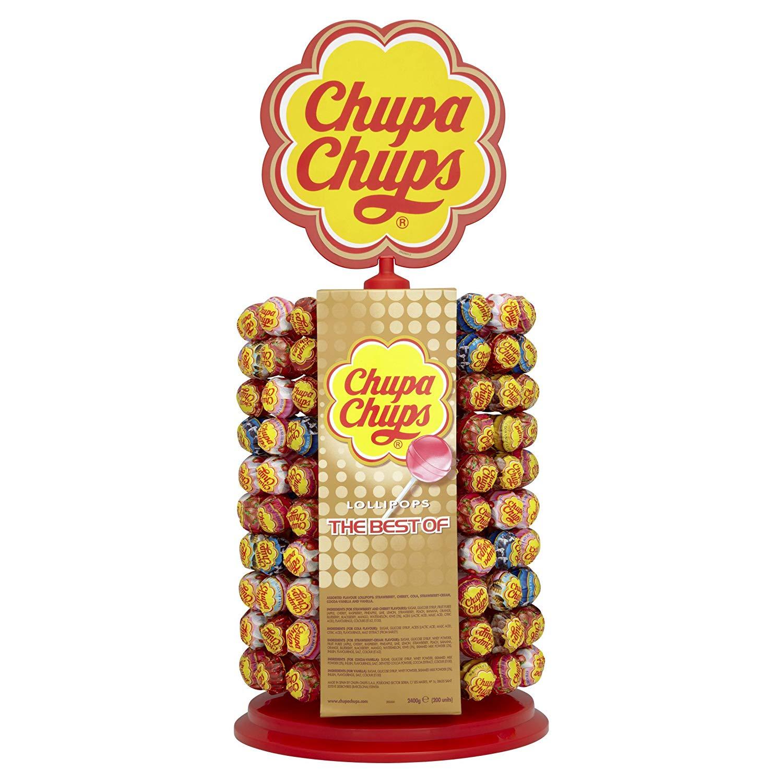 Chupa Chups Carousel of 180 + 20 Lollipops