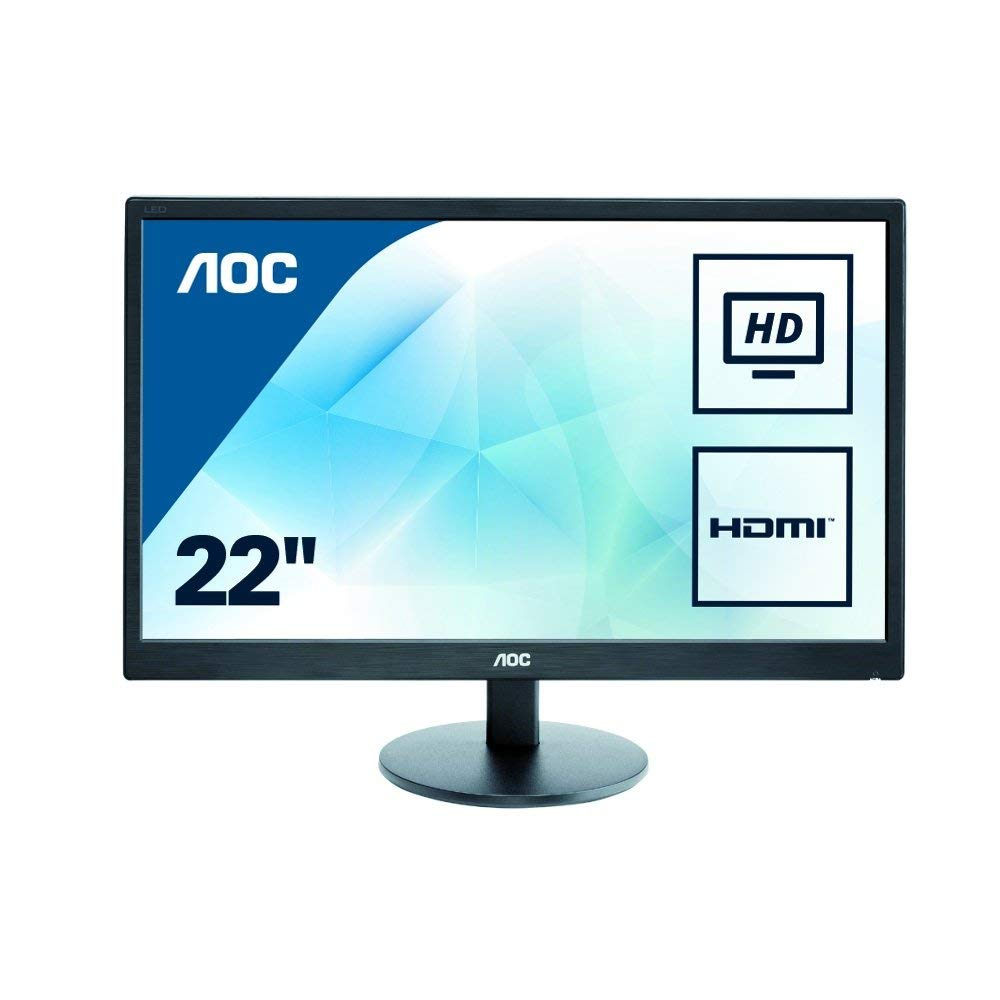 AOC e2270swhn 21.5″ Widescreen TN LED Black for £73.60