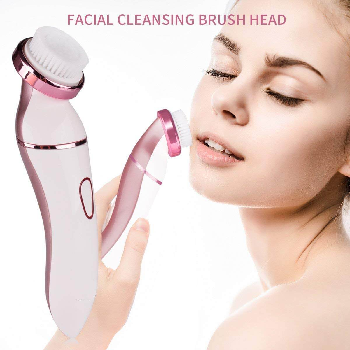 40% off ladies electric shaver 6 in 1 white