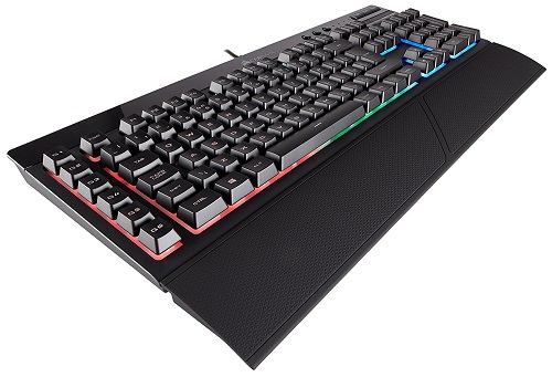 Corsair K55 RGB Membrane Gaming Keyboard for £48.00