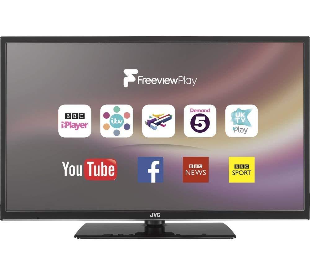 JVC LT-32C670 32″ Smart LED TV- HD Ready, Catch up Tv, Freeview, Netflix, USB for £198.00