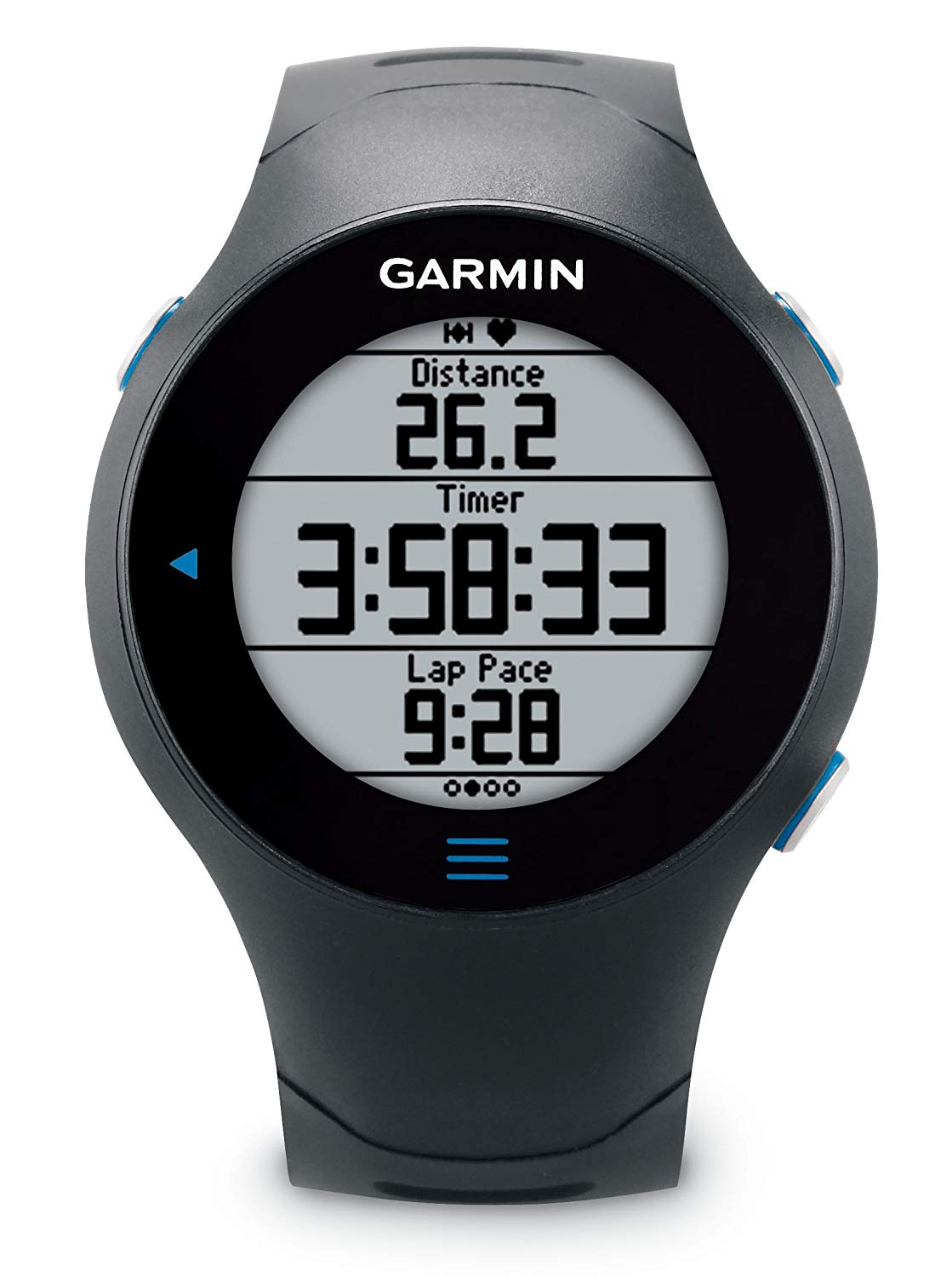 Garmin Forerunner 610 GPS Running Watch with Heart Rate Monitor – Black for £194.95