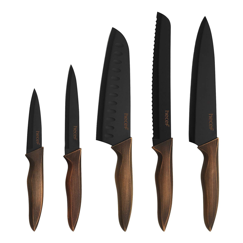 Hecef Kitchen Knife Set of 5