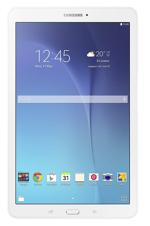 Samsung SM-T560NZWABTU Galaxy Tab E 9.6 Inch Wi-Fi Tablet for 117.50