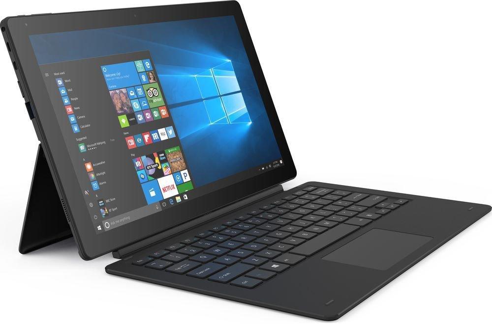 Linx 12X64 – 12.5-inch Tablet with Detachable Keyboard Intel Atom x5-Z8350