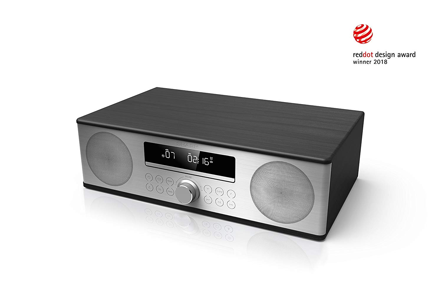 Sharp XL-B715D(BK) 90W All-In-One Micro Hi-Fi Audio System for £119.00