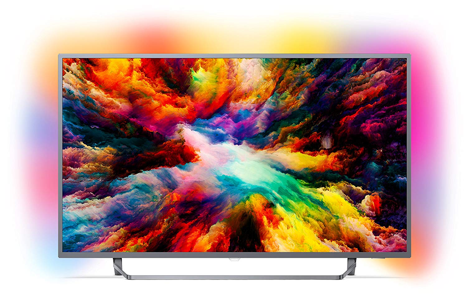 Philips 50PUS7303/12 50-Inch 4K Ultra HD Android Smart TV with HDR Plus and Ambilight 3-sided