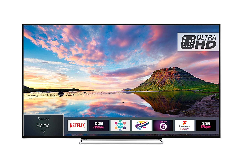 Toshiba 43U5863DB 43-Inch Smart 4K Ultra-HD HDR LED TV for £279.00