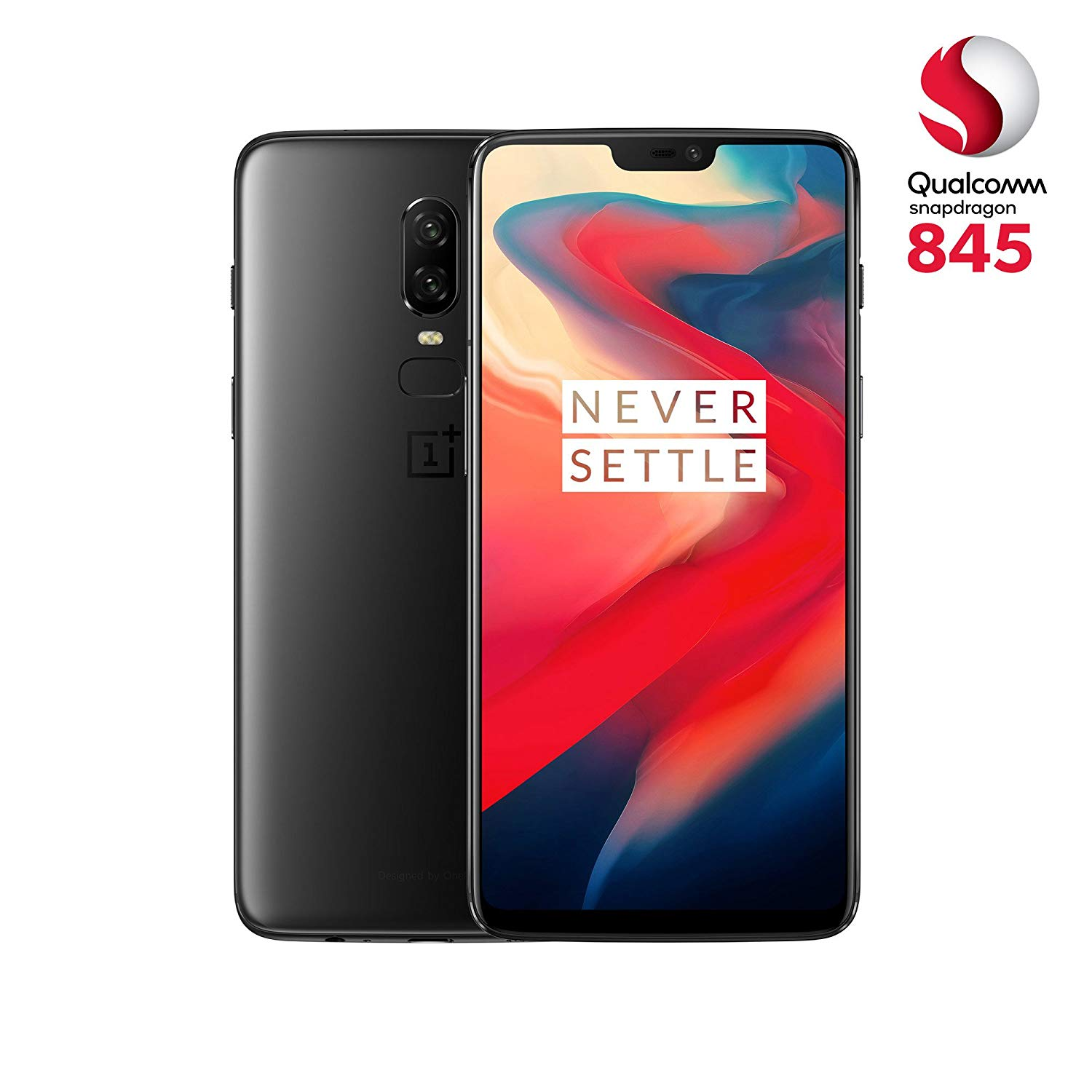 OnePlus 6 (Dual SIM) 128 GB Android 8.1  Smartphone (Midnight Black) for £449.00
