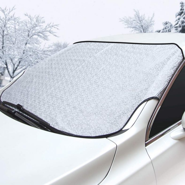 Sukuos Car Windshield Snow Cover (56″x 43″)
