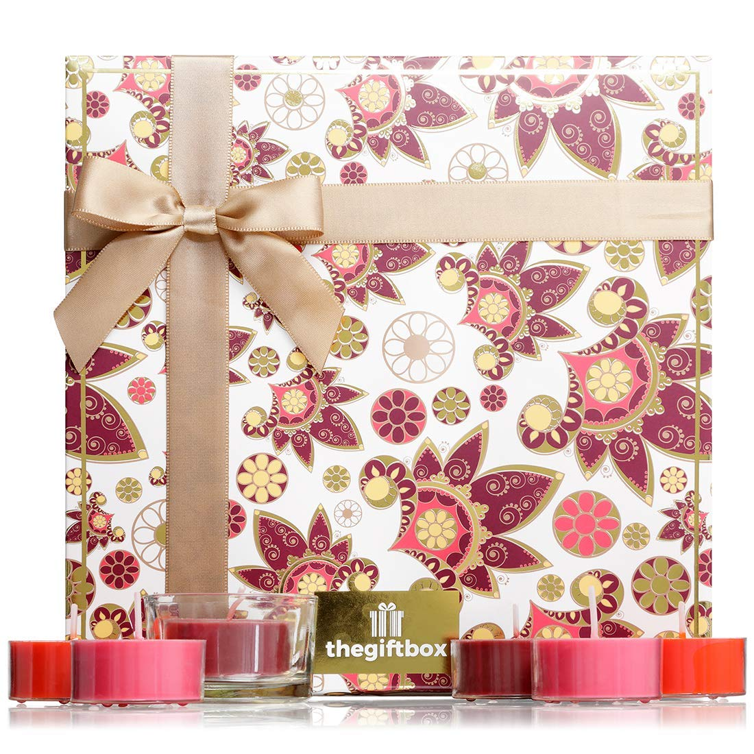 Scented Candle Gift Set with 21 Scented Candles plus holder. A Large Candle Gift ideal for £5.00