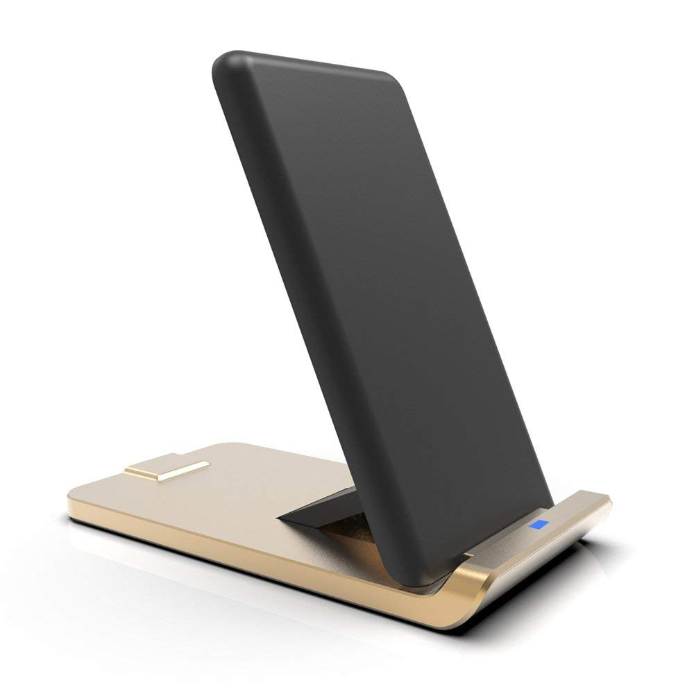 Fast Wireless Charger,[2019 Upgraded 3 Coil Version ] Qi Wireless at Amazon UK for £8.99