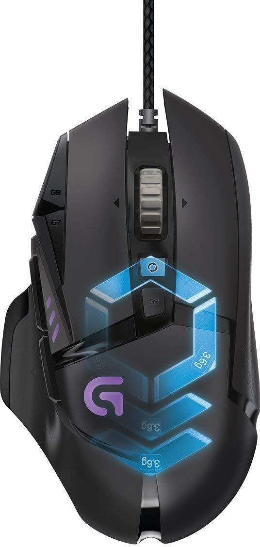 G502 Gaming Mouse Proteus Spectrum RGB Tuneable with 11 Programmable Buttons  for £32.99