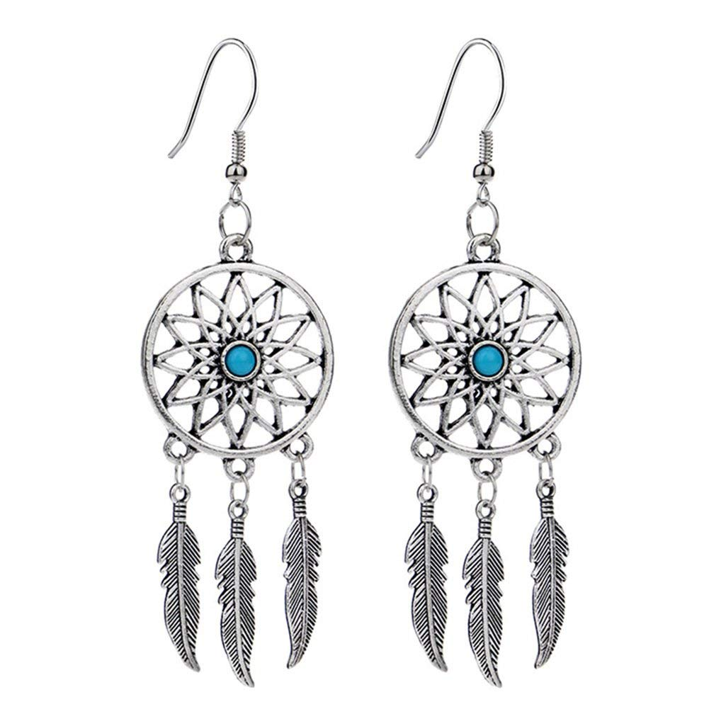 Dreamcatcher Dangly Earrings for £0.01