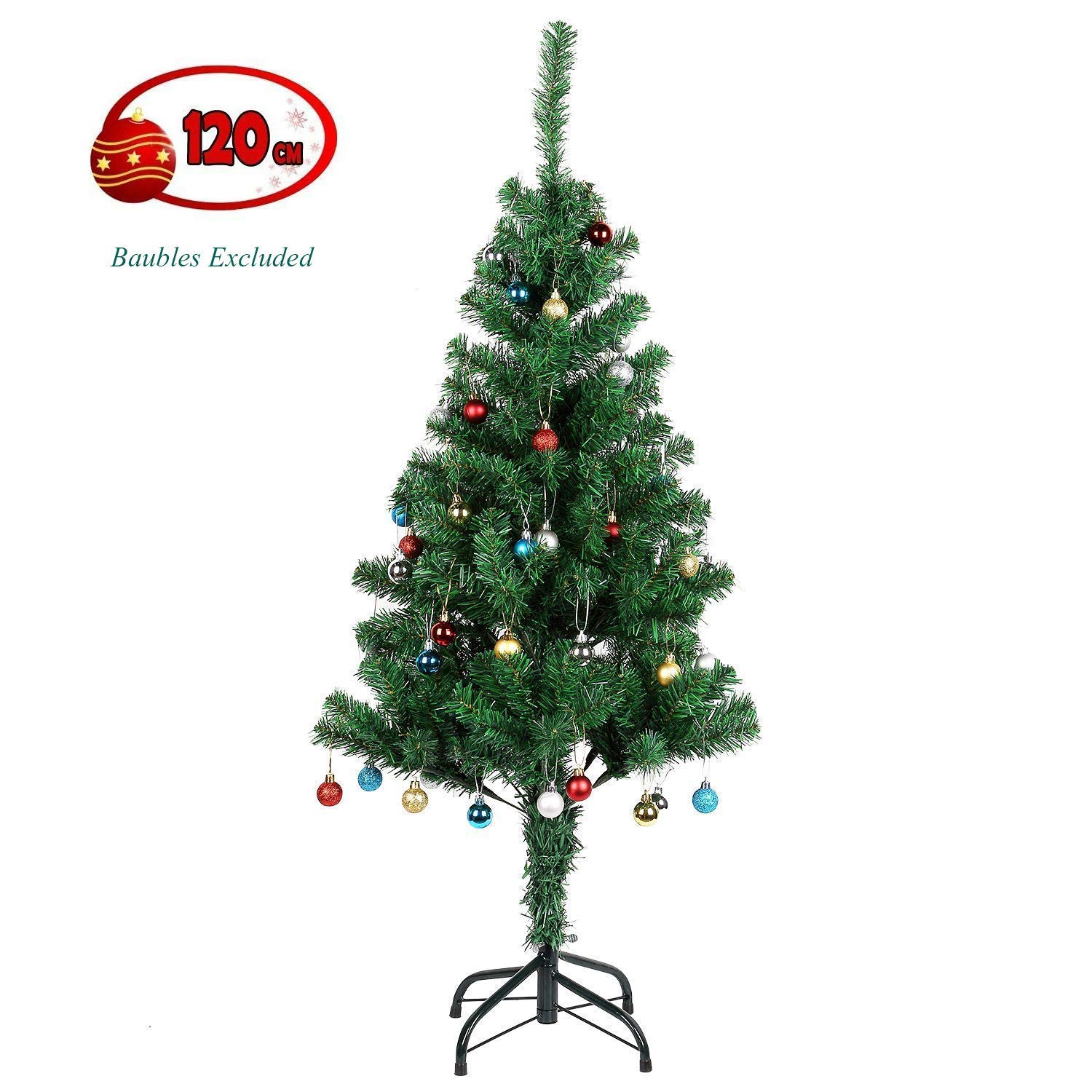 4ft Easy Assembly Artificial Christmas Decoration Tree for £9.49