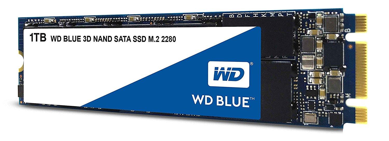 WD Blue 3D NAND Internal SSD M.2 SATA – 1 TB for £129.79
