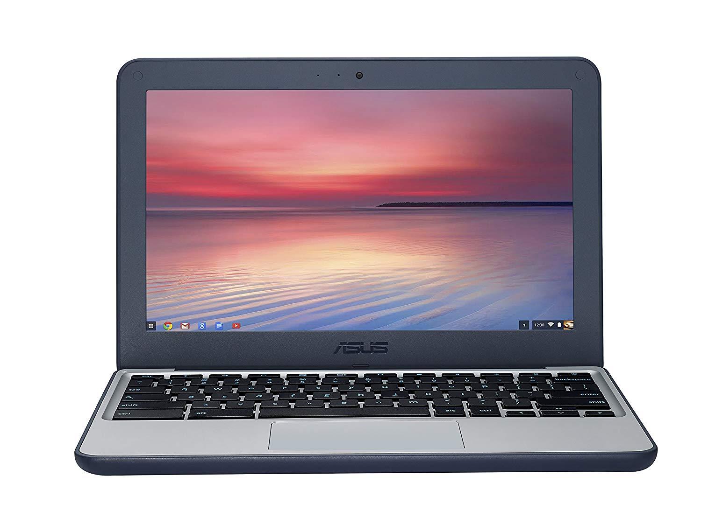 ASUS C202SA-GJ0027 11.6-inch Chromebook Ruggedised (Dark Blue) for £129.00