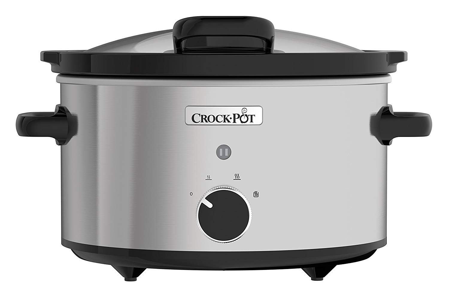 Crock-Pot CSC044 3.5L Stainless Steel Slow Cooker with Hinged Lid for £23.29