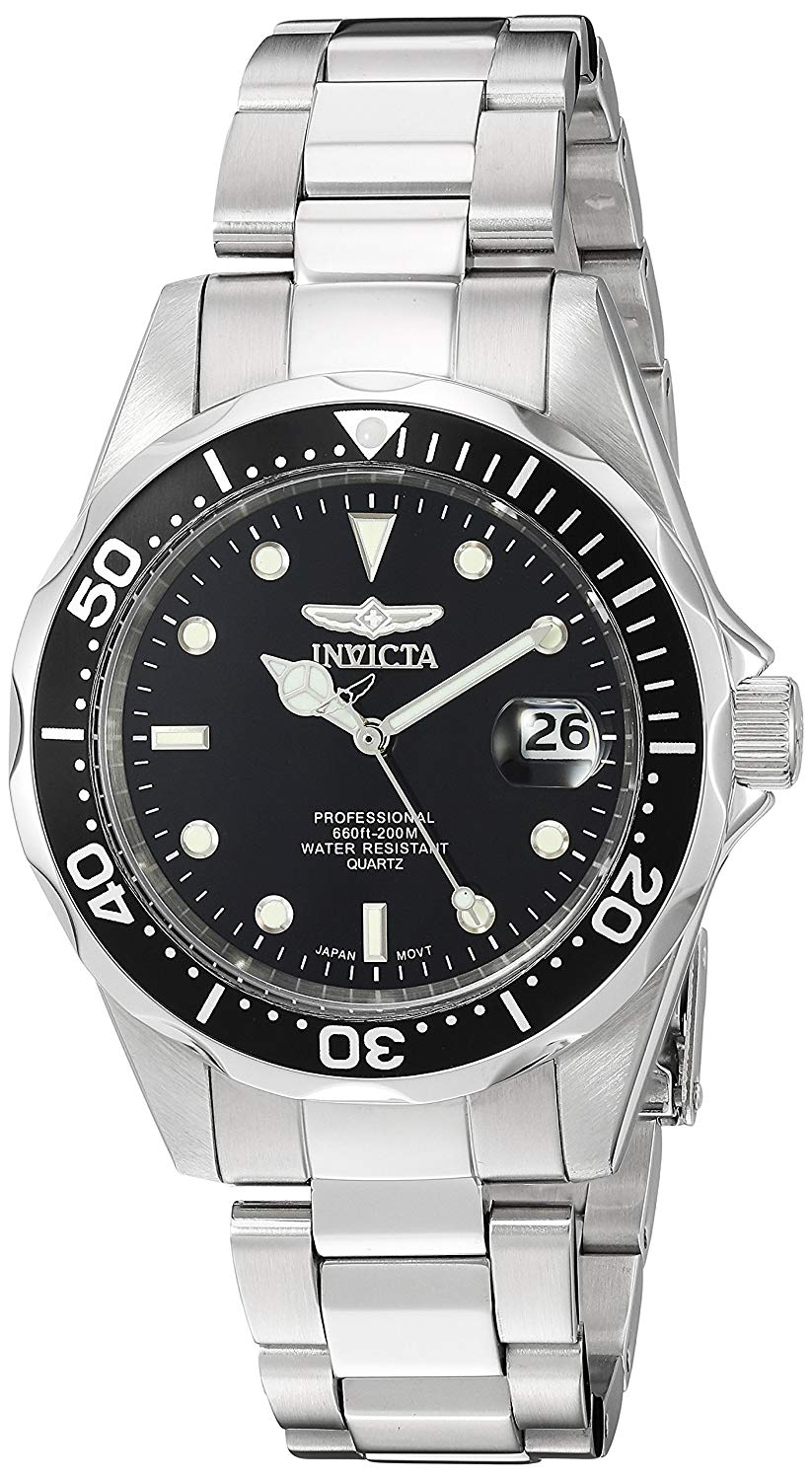 Invicta Men's Analogue Quarz Watch with Stainless Steel Strap 8932 for £59.00