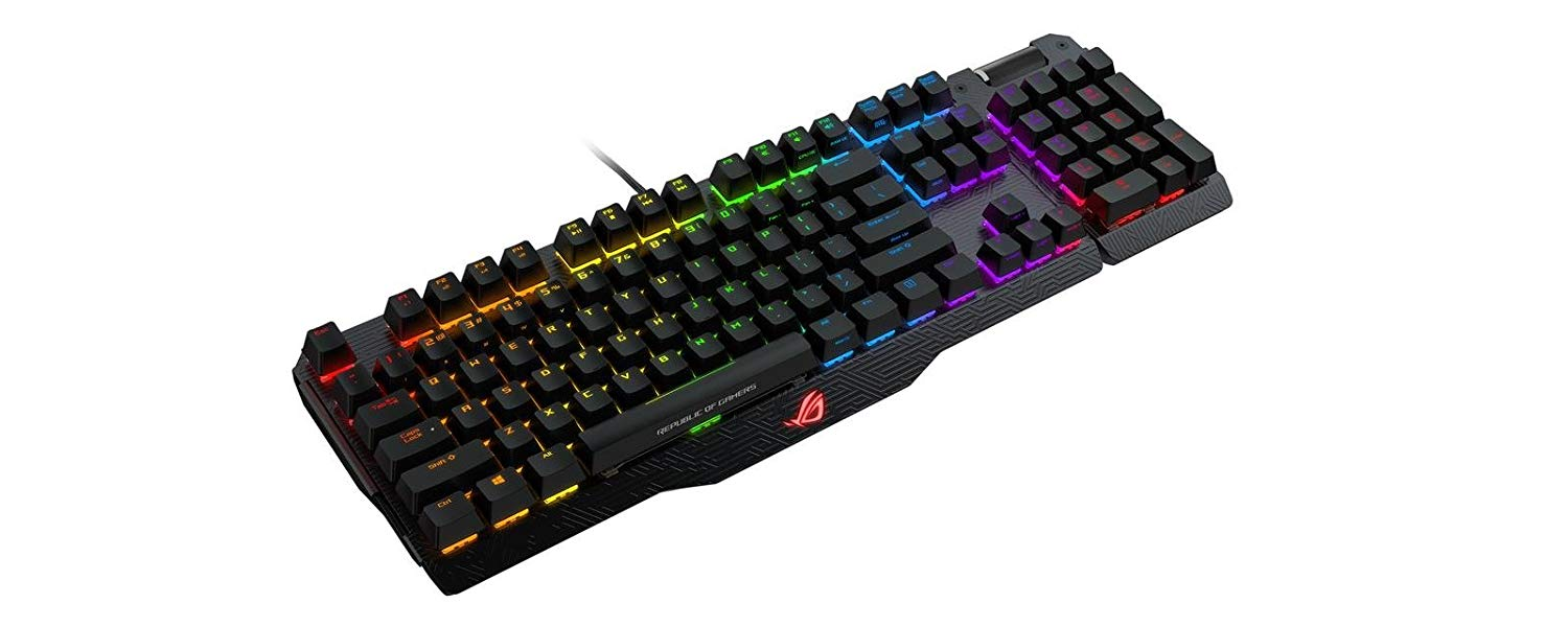 ASUS ROG Claymore RGB mechanical gaming keyboard for £139.99