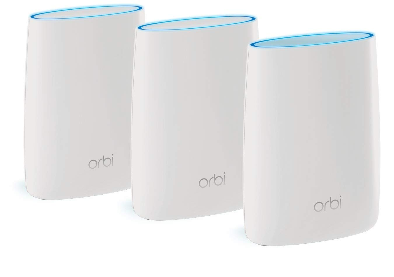 NETGEAR Orbi Ultimate Whole Home Mesh Wi-Fi System (Router + 2 Satellite Extenders)