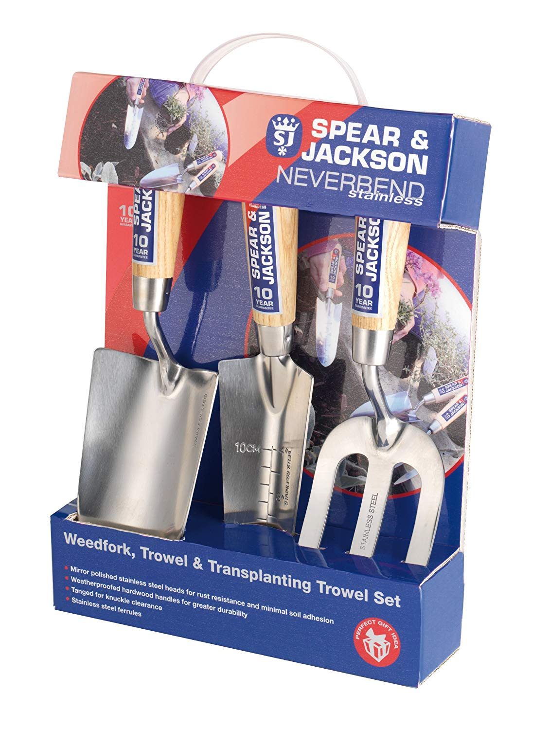 Spear & Jackson Neverbend Stainless Hand Tool Gift Set for £12.74