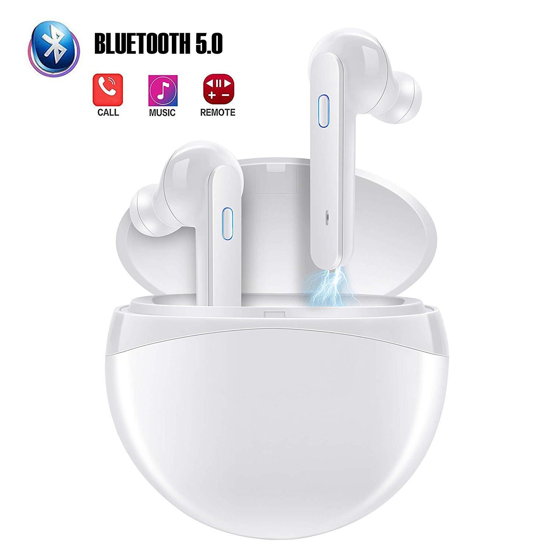Bluetooth 5.0 Headphones, True Wireless Earbuds Blutooth