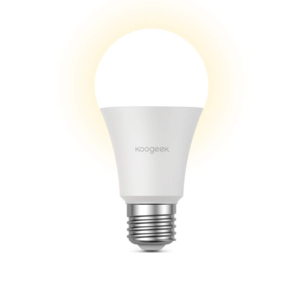 dimmable wi fi smart led light bulb compatible with alexa apple homekit and the google. Black Bedroom Furniture Sets. Home Design Ideas