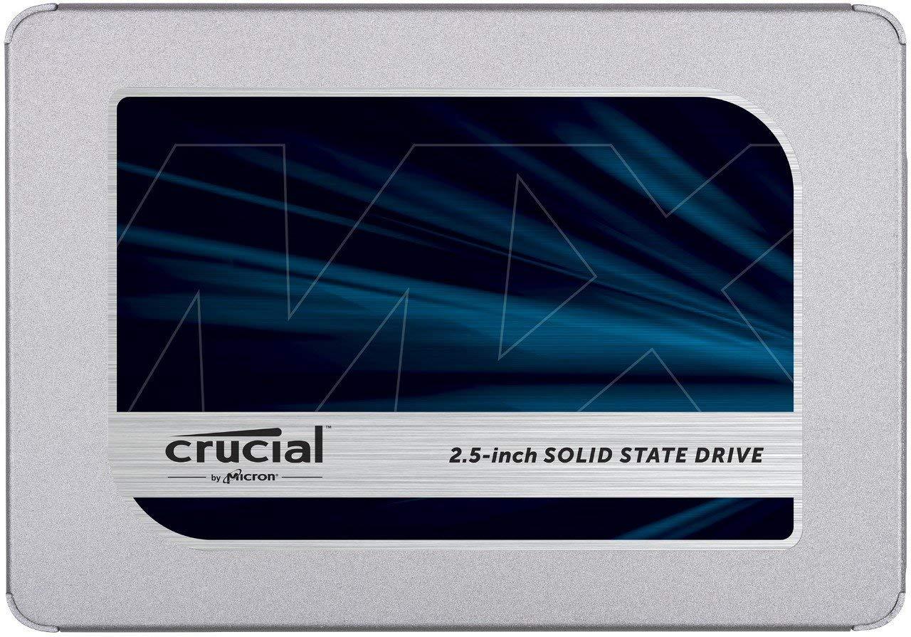 Crucial MX500 CT1000MX500SSD1(Z) 1 TB Internal SSD (3D NAND, SATA, 2.5 Inch)