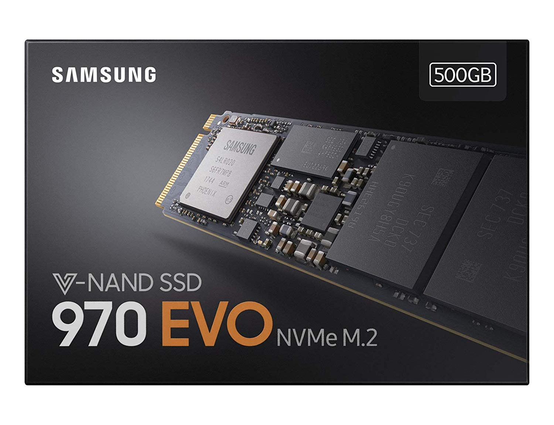 Samsung MZ-V7E500BW 970 EVO 500 GB Express Solid State Drive – Black