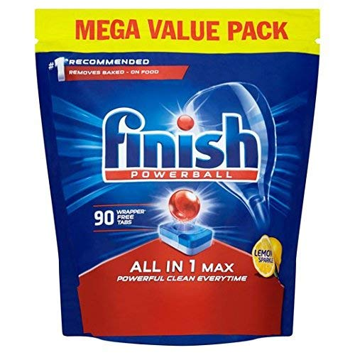 Finish All in 1 Max Dishwasher Tablets – 90 Tabs