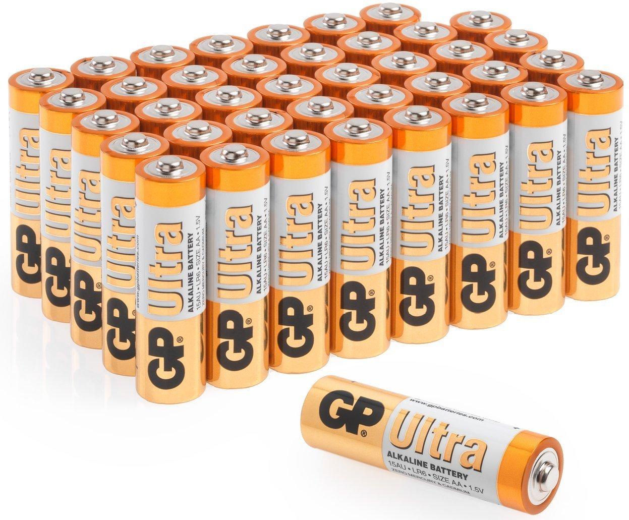 AA Batteries |Pack of 40|GP Batteries