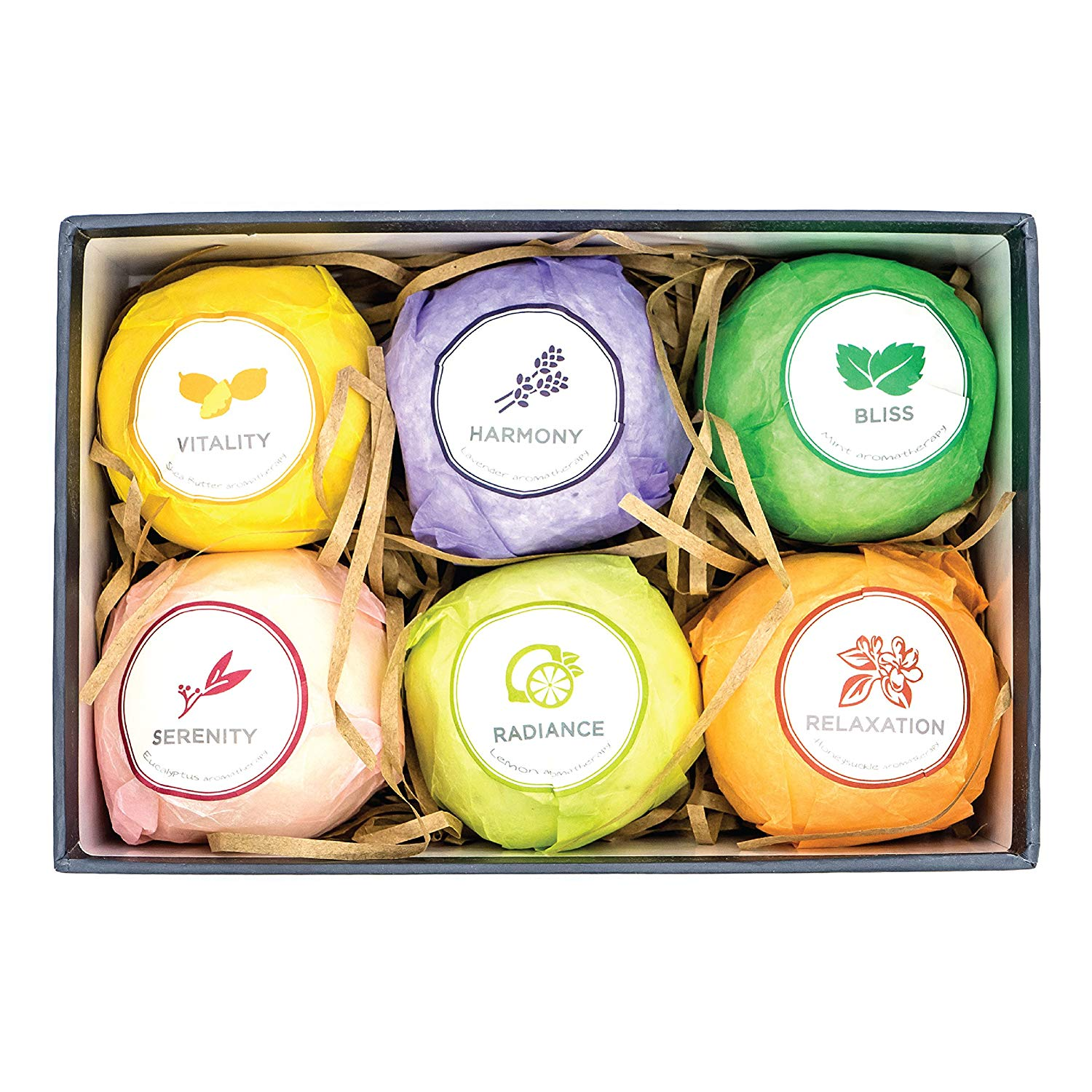 The Escential Co. Bath Bomb Gift Set